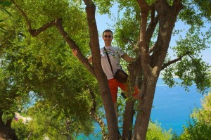 Monkeying in Nice