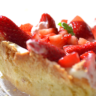 Strawberry Balsamic Tart with Mascarpone Cream